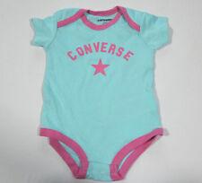 61c6a63ff3f9d Nuevo All Star Converse Bebé Niña Niñas Body Turquesa Gr.6-9Monate 70-