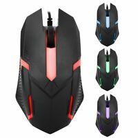 1600DPI Wired Backlight USB Mouse Competitive Game Laptop Office USB Mouse 🔥