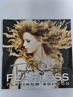 Taylor Swift Fearless Plantinum Standard 2 LP Vinyl Record New Sealed