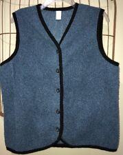 Lands And Blue Sleeveless Vest Women's M 10-12