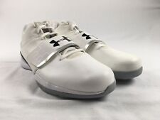 NEW Under Armour TB Micro G Bloodline - White Basketball Shoes (Men's 18)