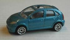 Majorette Citroen C3 blaumetallic Auto Kleinwagen PKW Car PSA blue bleu blu