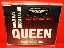 CD QUEEN AND PAUL RODGERS - SAY IT'S NOT TRUE - SINGLE -1 TRACK + Video - NEW