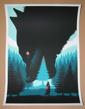 Little Red Riding Hood Guillaume Morellec Poster Print Limited Edition 2014 Art