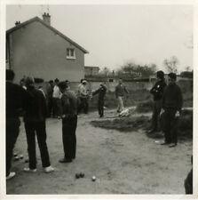 PHOTO ANCIENNE - VINTAGE SNAPSHOT - PÉTANQUE JEU DE BOULES - LAWN BOWLING 10