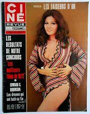 ►CINE REVUE 6/1973-SERGE REGGIANI-MICHEL PICCOLI-EDWARD G.ROBINSON-LEE MARVIN...