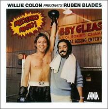 FANIA Salsa RARE CD REMASTERED Ruben Blades Willie Colon METIENDO MANO Limited