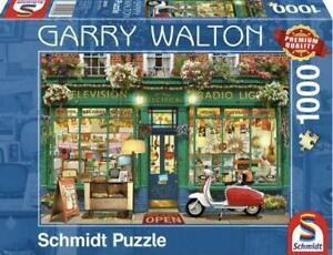 Garry Walton Electronics Store 1000 Piece Jigsaw Puzzle by Schmidt