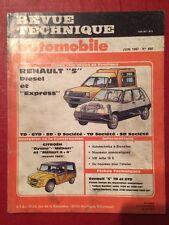Revue Technique Automobile RENAULT 5 Diesel et Express