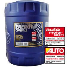 5W-30 MOTORÖL 10L MANNOL ENERGY COMBI LL 5W-30 API SN CF BMW LL-04 MB 229.51 C30
