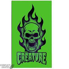 """Creatura """"SCEMO"""" Skateboard Snowboard Adesivo Decalcomania 17cm x 10cm verde di grandi dimensioni"""
