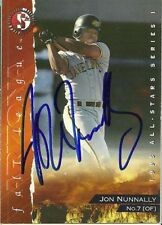1995 Peoria Javelinas JON NUNNALLY Signed Card autograph royals arizona fall lea