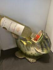 Large Mouth Bass Wine Bottle Holder