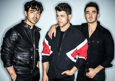THE JONAS BROTHERS GLOSSY WALL ART POSTER PRINT (A1 - A5 SIZES AVAILABLE)