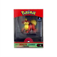 WICKED COOL TOYS POKEMON SELECT COLLECTION SERIES 3 MINI FIGURE GROWLITHE 95344