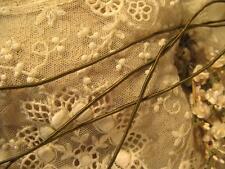 OLIVE GREEN MILLINERY VINE CORD RIBBON FLOWERS DOLL DRESS CRAFT TRIM SCRAPBOOK