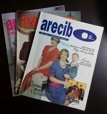 Arecibo lote de 3 Revistas 1993  Puerto Rico
