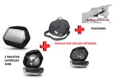 KIT SHAD fijacion 3P + maletas laterales SH35 + bolsas HONDA NC750 X/S (16-17)