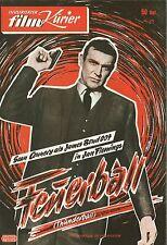 MFK 75   FEUERBALL   James Bond   Sean Connery   Claudine Auger   Top Zustand