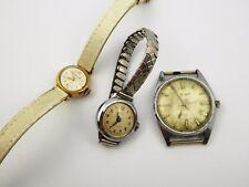 Steam Punk Restoration Layby 3 Vintage Mechanical Wrist Watches
