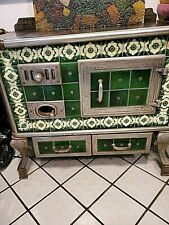 New ListingAntique European Porcelain Hand Painted Tile Oven Decorators Dream