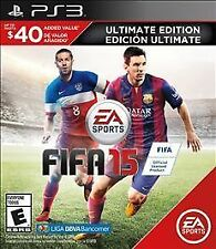 BRAND NEW SEALED PS3 -- FIFA 15 -- Ultimate Edition (Sony PlayStation 3, 2014)