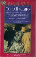 Tutto il teatro: 1 - Gabriele D'Annunzio - Libro Nuovo in offerta!