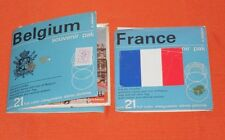 vintage FRANCE & BELGIUM VIEW-MASTER REELS lot (2 sets)