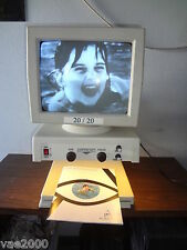 "Electronic Magnifier 14"" Black & White CRT 20/20 CCTV for macular degeneration"