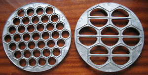 LOT METAL MOLD VARENIKI + RUSSIAN METAL MOLD PELMENI
