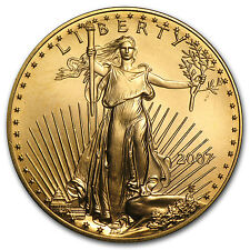 2007 1 oz Gold American Eagle Coin - Brilliant Uncirculated - SKU #21529