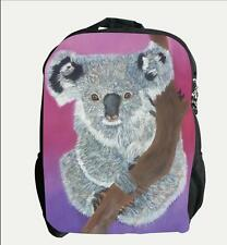 Koala Backpack, Book bag - From My Painting, Home Range