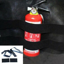 Car Auto Store Content Bag Rapid Fire Extinguisher Fixed Holder Safety Strap Kit