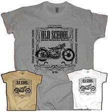 AWO Biker Herren T-Shirt Biker Oldtimer Touren Sport Kult Motorrad Oldschool