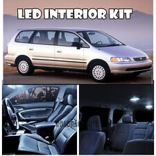 For 94-98 Honda Odyssey Van WHITE Xenon 5050 Interior Light LED Bulb Kit 12pcs