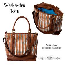 Miche Tote Weekender Bag Woven Lined Weekend NIP