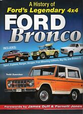 History of Ford's Legendary 4x4 Ford Bronco Ranger Explorer Manual book CT634