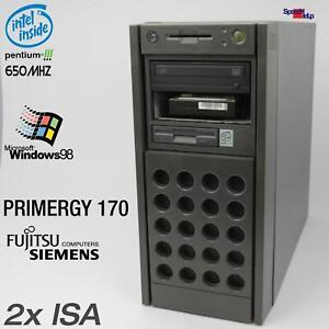 2x Isa FSC Primergy 170 Fujitsu Siemens D1107 Computer PC Pentium 3 Parallel