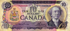 02 Canada / Kanada P88dr 10 Dollars 1971 REPLACEMENT