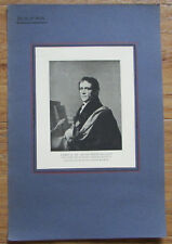 Anton Franz Rollett - Lithografie alter Druck ca. 1920 Porträt