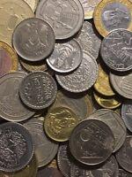 100 Gramm Restmünzen/Umlaufmünzen Syrien