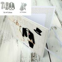 DIY Wedding Dress Metal Cutting Dies Stencil Scrapbooking Embossing Card Crafts