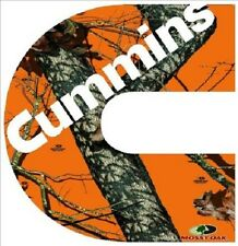 4'' x 4'' for this Cummin Camo Decal  Sticker (let me know which one you want )