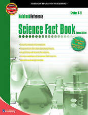 Notebook Reference Science Fact Book: Second Edition