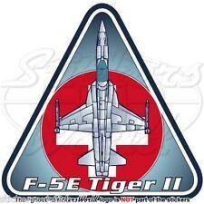 Northrop F-5E Tiger II SVIZZERA Aeronautica Militare Sticker Adesivo