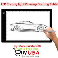 A4 LED Pro Art Graphics Drawing Painting Tablet Gift Digital Board Display Pad B
