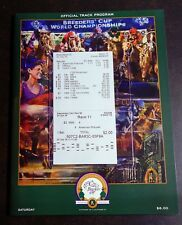 2015 BREEDERS CUP $2 UNCASHED WIN & RESULTS TICKET PROGRAM PLUS PHOTO GRAND SLAM