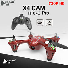 Hubsan H107C X4 Drone 2.4G 4CH RC Quadcopter with 720P HD Camera, LED, RTF 2019