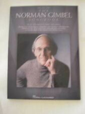 Signed! Norman Gimbel Songbook Song Lyricist Happy Days Killing Me Softly Rare!