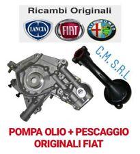 POMPA OLIO COMPLETA ORIGINALE FIAT DOBLO 1.2 1.4 BENZINA-GPL CODICE 55269961